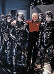 Stewart with Borg