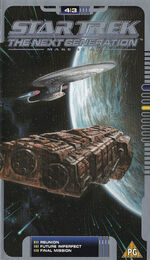 TNG 4.3 UK VHS cover