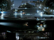 USS Enterprise (alternate reality) under construction, teaser