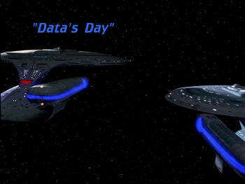 Data's Day title card