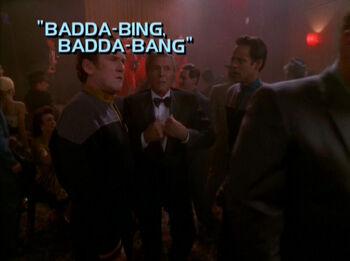 Badda-Bing, Badda-Bang title card