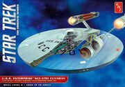 AMT Model kit AMT891 USS Enterprise Cutaway 2015