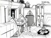 Albino's courtyard