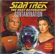 Contamination audiobook CD cover