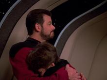 Picard gibt sich als Rikers Sohn aus