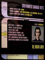 Ro Laren personnel file remastered