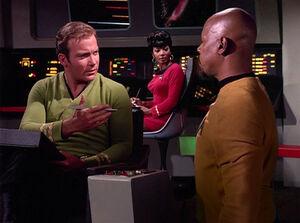 Sisko meets Kirk