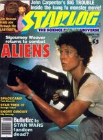 Starlog issue 109 cover
