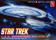 AMT Model kit AMT676 USS Enterprise-B 2011