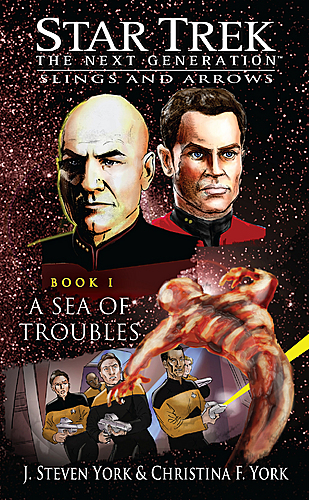 Cover of book 1, <i>A Sea of Troubles</i>