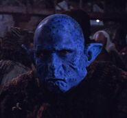 Blue Alien Prisoner