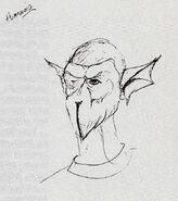 Buck-tooth alien, concept art