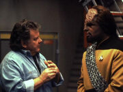 Cliff Bole and Michael Dorn