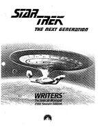 Star Trek The Next Generation Writers Technical Manual season 5