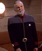 Starfleet flag officer uniform, 2370s