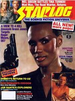 Starlog issue 095 cover