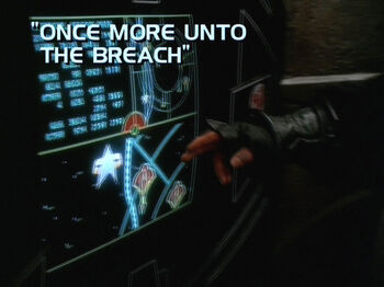 Once More Unto the Breach title card
