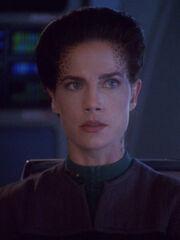 Hologramm von Jadzia Dax