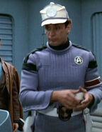 Human Starfleet prison guard 1