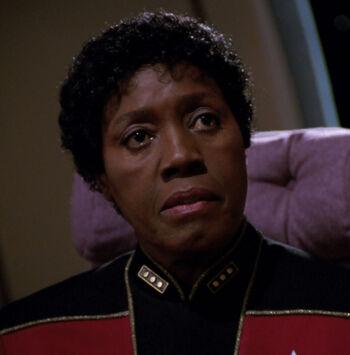 ... as Fleet Admiral Shanti