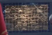 Star chart with constellations, The Corbomite Maneuver remastered