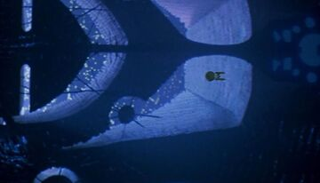 USS Enterprise flyover V'ger