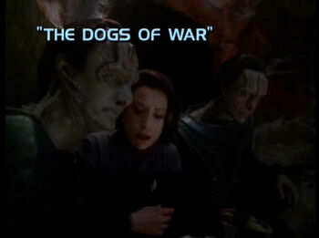 The Dogs of War title card