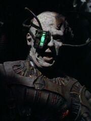 Borg-Drohne in einer Vision von Seven of Nine 1