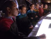 DS9 senior staff 2371
