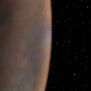 Valo II from orbit