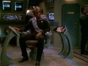 Worf unzufrieden mit Konvoidienst