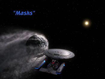 Masks title card