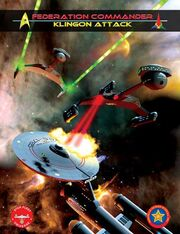 Federation Commander Klingon Attack