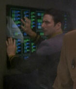 Human DS9 male Defiant crewman, 2375