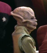 Kobheerian female on DS9, 2371