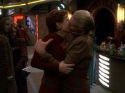 Odo und Kira erster Kuss