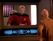 Picard kontaktiert Admiral Riker