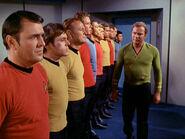 Scott, Chekov, Freeman, and Kirk