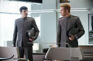 Starfleet grey male dress uniform, 2259
