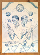 Stranger Worlds, issue 3 cover S original