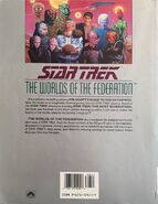 The Worlds of the Federation, reprint back cover