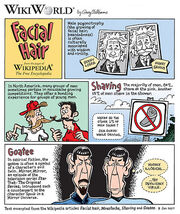 Facial Hair Comic Spock