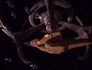 Galor docked at lower pylon 1