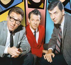 Norm Prescott, Hal Sutherland, and Lou Scheimer