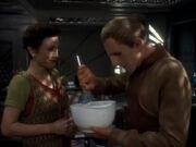 Odo genießt das Zubereiten der Speisen