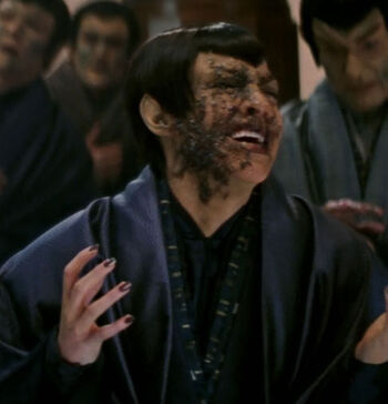 ... as a Romulan senator