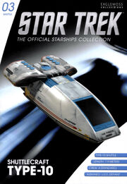 Star Trek Official Starships Collection Shuttle Issue 03