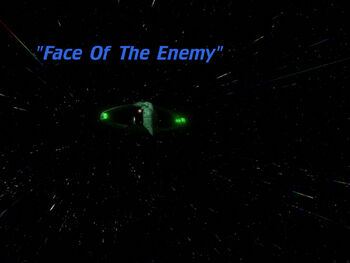 Face of the Enemy title card