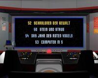 DVD-Menü TOS Staffel 2 Disc 6