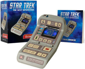 Running Press Light-and-Sound Tricorder production.jpg